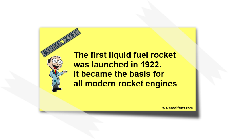 First Liquid Fuel Rocket