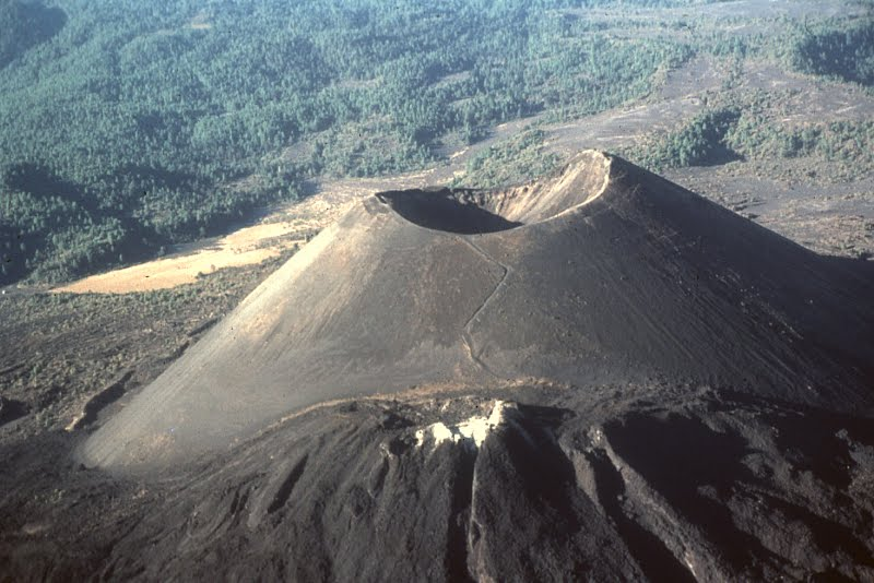 Volcano Birth In 1943 Of Paricutin