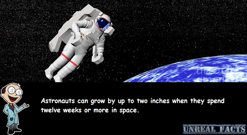 astronauts grow in space