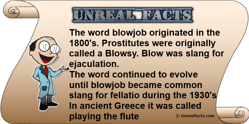origin of blowjob