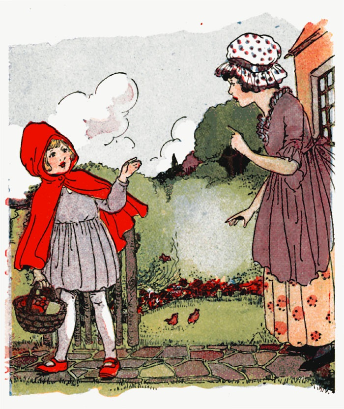Little Red Riding Hood Killed In The Original Story