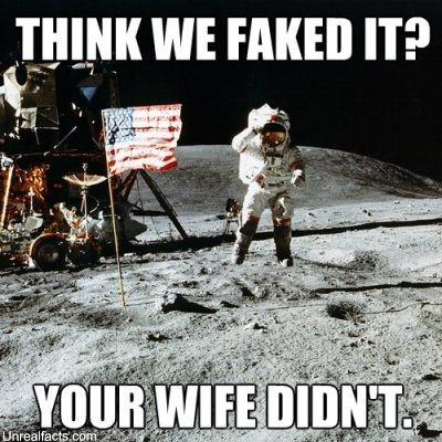 The Moon Landng Were Faked