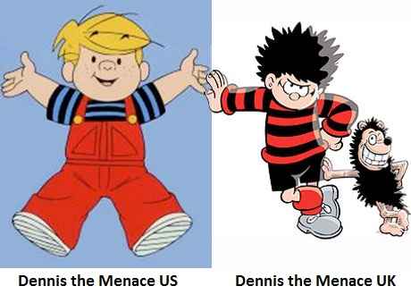 dennis the menace two versions
