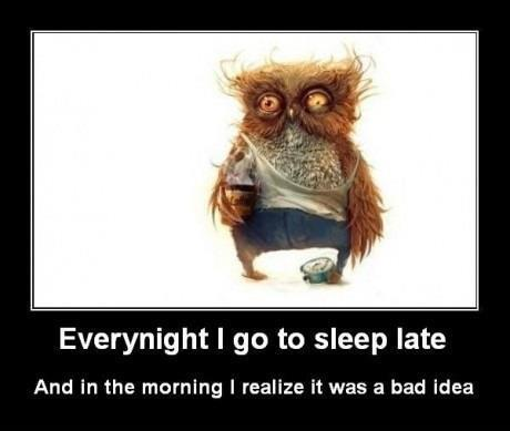 If you stay up late are you smarter