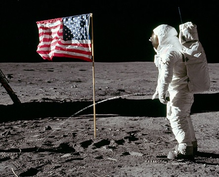 first person to pee on the moon
