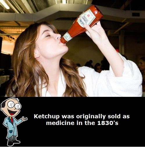 ketchup originally sold as medicine share
