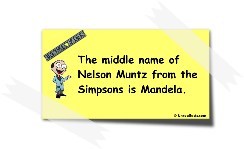 nelson muntz middle name