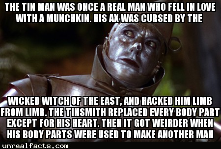 why did the tin man want a heart