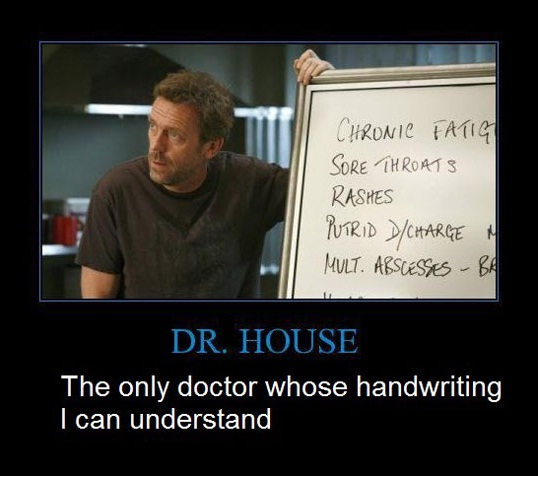 doctor's handwriting causes death