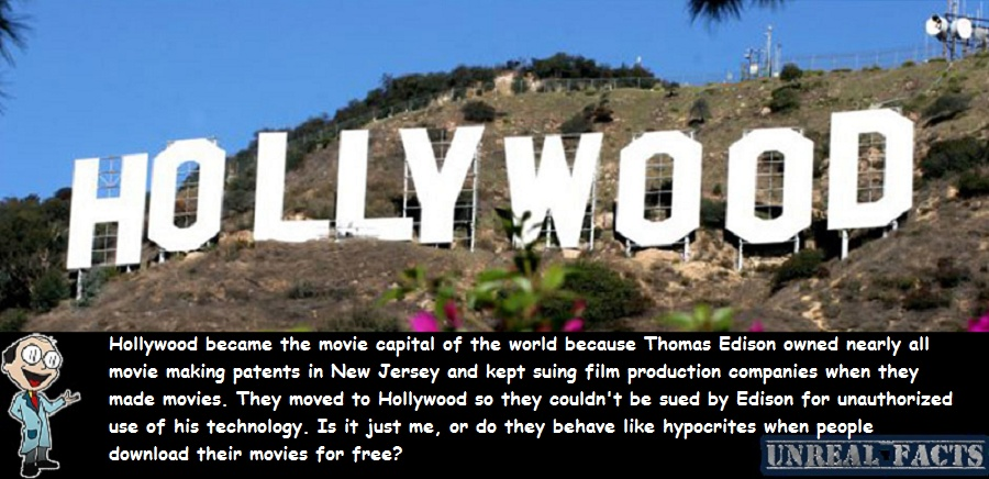 how did hollywood become the movie capital of the world