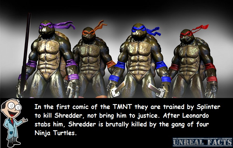 teenage mutant ninja turtles kill shredder leonardo