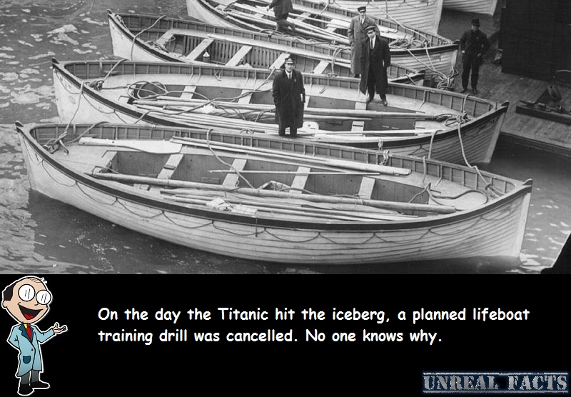 titanic lifeboat drill cancelled