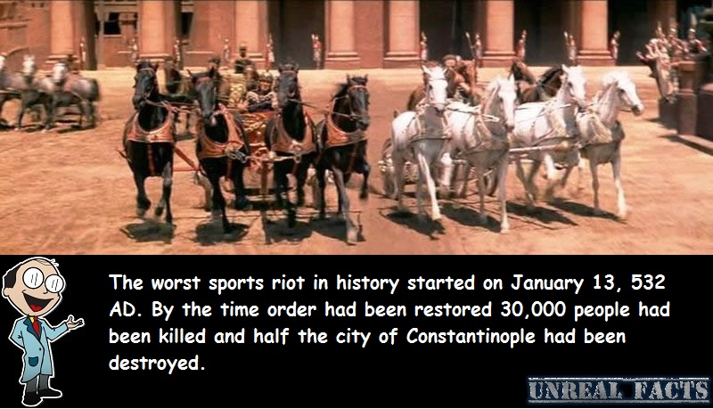 worst sports riots in history