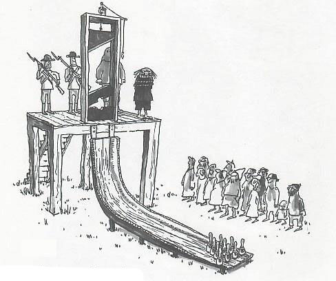 inventor of guillotine killed by guillotine