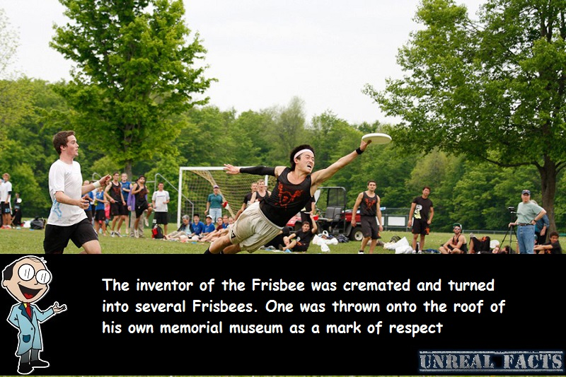 inventor of frisbee