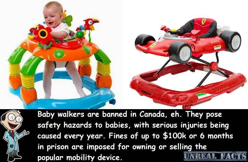 baby walker facts