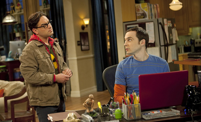 how did sheldon and leonard get their names