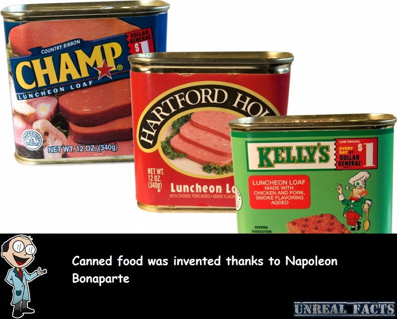 napoleon canned goods