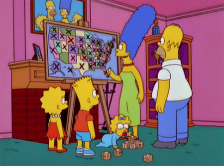 Where Are The Simpsons From