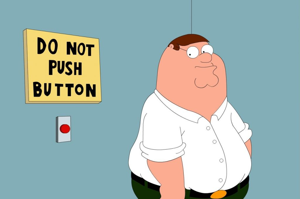 Peter Griffin Wears Womens Shirts