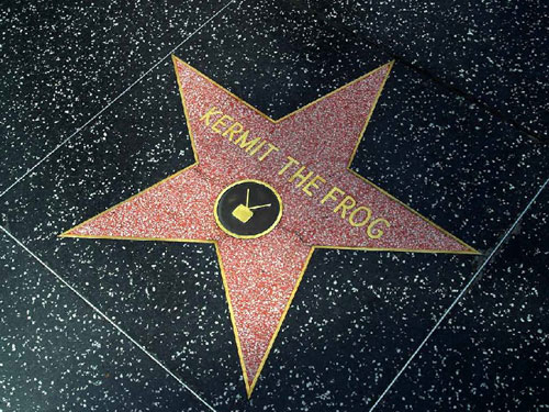 Fictional Characters On Hollywood's Walk Of Fame