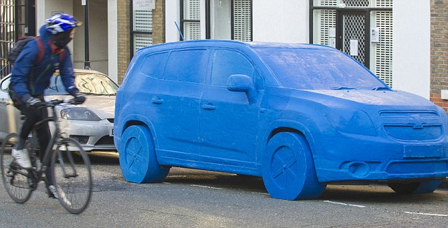 TLife Sized Car Was Made Out Of Play Doh