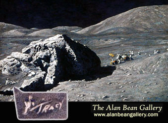 eugene cernan wrote daughters initials on the moon