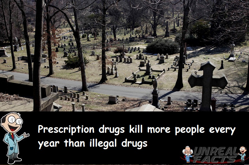 more people die from prescription drugs than illegal drugs