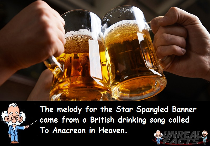Star Spangled Banner Drinking Song